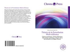 Théorie de la Perturbation Multi-référence kitap kapağı