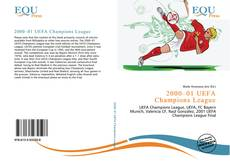 Bookcover of 2000–01 UEFA Champions League