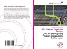 Portada del libro de 1991 Phoenix Cardinals Season
