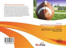 Capa do livro de 1993 Phoenix Cardinals Season