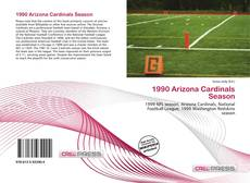 Capa do livro de 1990 Arizona Cardinals Season