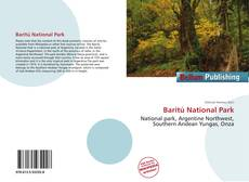 Bookcover of Baritú National Park