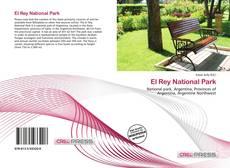 Bookcover of El Rey National Park