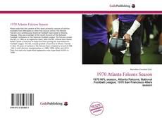 Bookcover of 1970 Atlanta Falcons Season