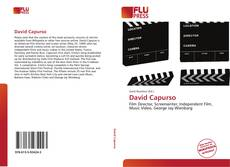 Bookcover of David Capurso