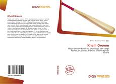 Bookcover of Khalil Greene