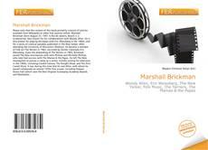 Borítókép a  Marshall Brickman - hoz