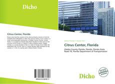 Bookcover of Citrus Center, Florida