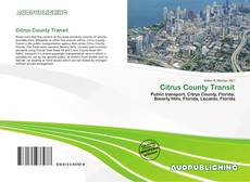 Bookcover of Citrus County Transit