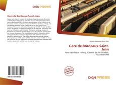 Обложка Gare de Bordeaux-Saint-Jean