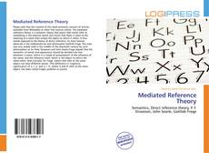 Bookcover of Mediated Reference Theory