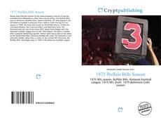 Bookcover of 1975 Buffalo Bills Season