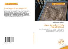 Portada del libro de Liam Lynch (Irish republican)