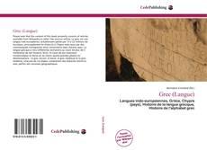 Bookcover of Grec (Langue)