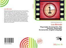 Portada del libro de Leo Birinski