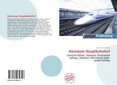 Buchcover von Hannover Hauptbahnhof