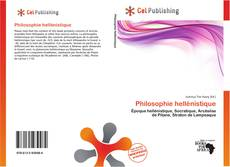 Bookcover of Philosophie hellénistique
