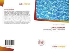 Bookcover of Claire Waldoff