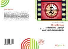 Bookcover of Greg Berlanti