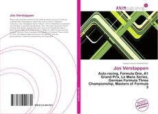 Bookcover of Jos Verstappen