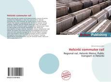 Portada del libro de Helsinki commuter rail