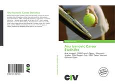 Bookcover of Ana Ivanović Career Statistics