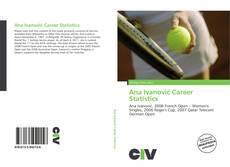 Capa do livro de Ana Ivanović Career Statistics