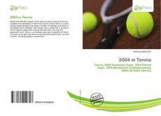 Couverture de 2004 in Tennis