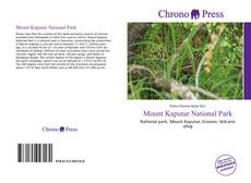 Bookcover of Mount Kaputar National Park