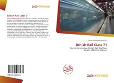 Borítókép a  British Rail Class 71 - hoz