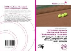 Capa do livro de 2009 Delray Beach International Tennis Championships – Doubles