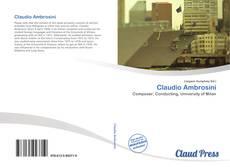 Capa do livro de Claudio Ambrosini