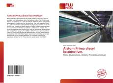 Bookcover of Alstom Prima diesel locomotives