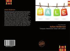 Couverture de Julian Anderson