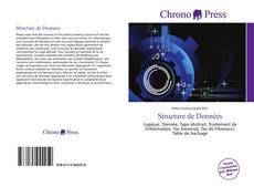 Capa do livro de Structure de Données