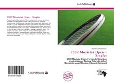 2009 Movistar Open – Singles的封面