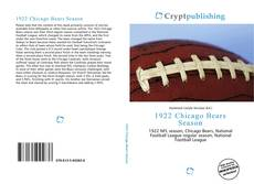 Copertina di 1922 Chicago Bears Season