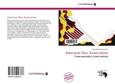 Bookcover of American Bus Association