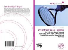 2010 Brasil Open – Singles的封面