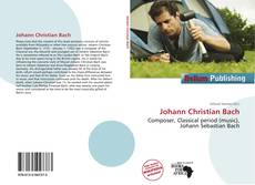 Обложка Johann Christian Bach