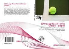 Borítókép a  2010 Legg Mason Tennis Classic – Singles - hoz