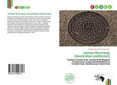Portada del libro de James Kennedy (Australian politician)