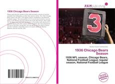 Buchcover von 1936 Chicago Bears Season