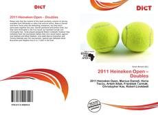 Bookcover of 2011 Heineken Open – Doubles