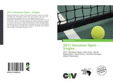 Bookcover of 2011 Heineken Open – Singles