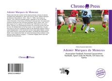 Capa do livro de Ademir Marques de Menezes