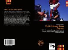 Portada del libro de 1949 Chicago Bears Season