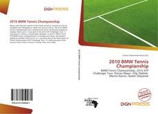 2010 BMW Tennis Championship的封面