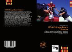 Bookcover of 1954 Chicago Bears Season