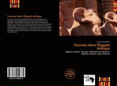Portada del libro de Taureau dans l'Égypte Antique